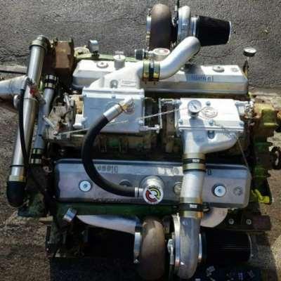 12v71 Detroit Diesel Gm V12 600ps 71 Twin Turbo Engine Truck Tank Generaaltjes Voor De Militaire Hobby